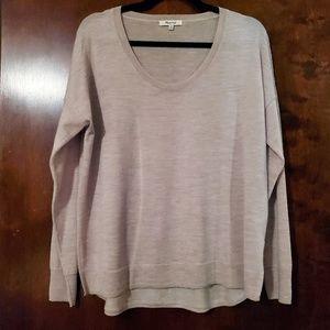 Madewell | Oatmeal Southstar Lightweight Sweater M
